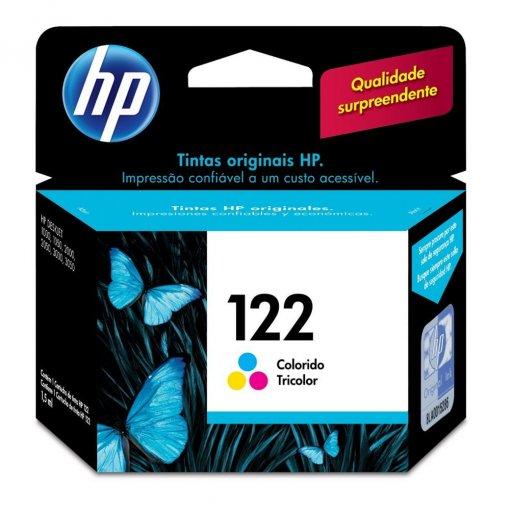 Cartucho HP 122 Colorido 1,5ml CH562HB