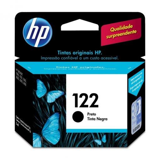 Cartucho HP 122 Preto 2ml CH561HB