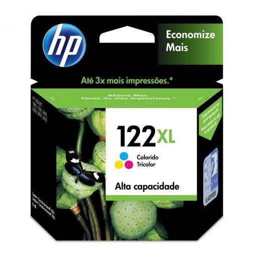 Cartucho HP 122XL Colorido 6ml CH564HB