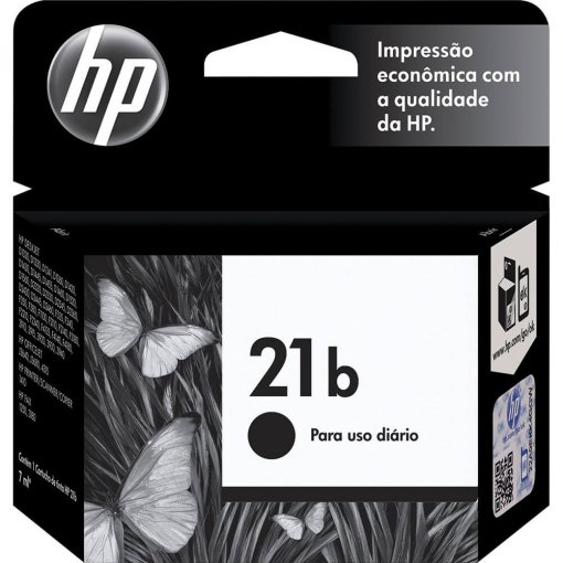 Cartucho HP 21b Everyday  Preto C9351BB