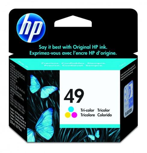 Cartucho HP 49 Colorido 22,8ml 51649A