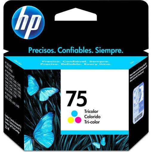 Cartucho HP 75 Colorido 3,5 ml CB337WB