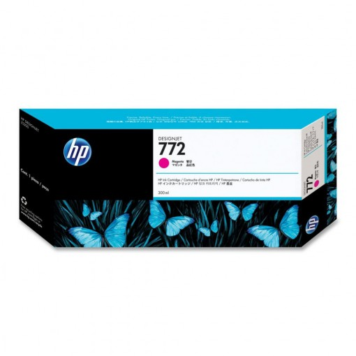 Cartucho HP 772 Magenta 300 ml CN629A