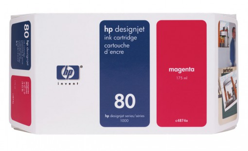Cartucho HP 80 Magenta 350 ml C4847A