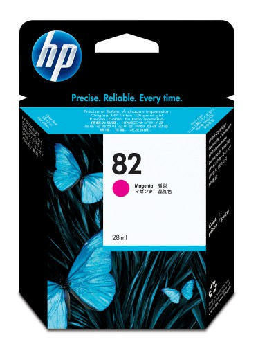 Cartucho HP 82 Magenta 28 ml CH567A