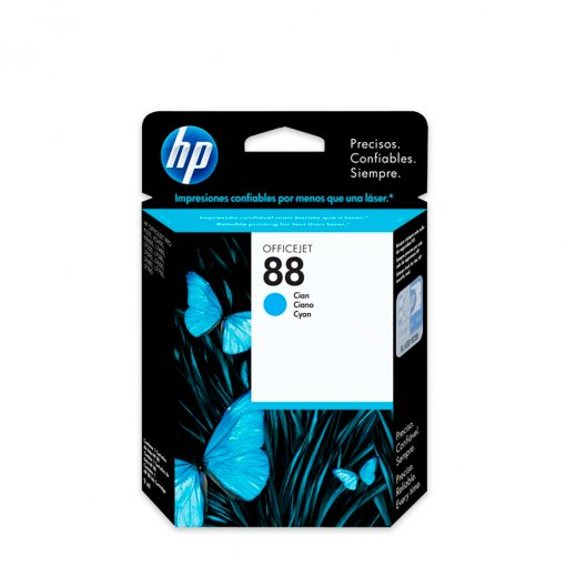 Cartucho HP 88 Ciano 9ml C9386AL
