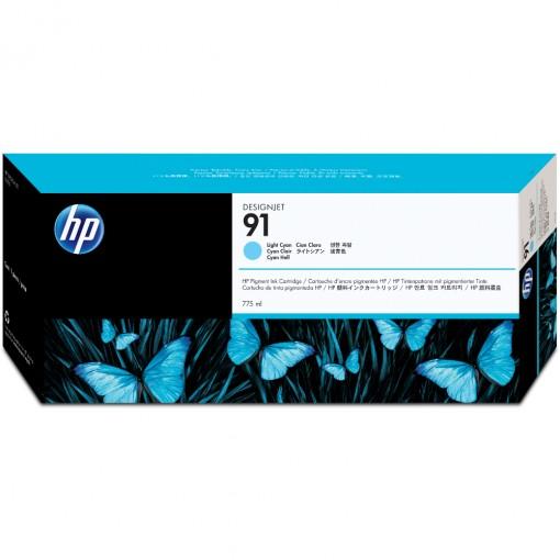 Cartucho HP 91 Ciano claro 775 ml C9470A