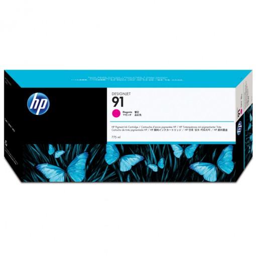 Cartucho HP 91 Magenta 775 ml C9468A