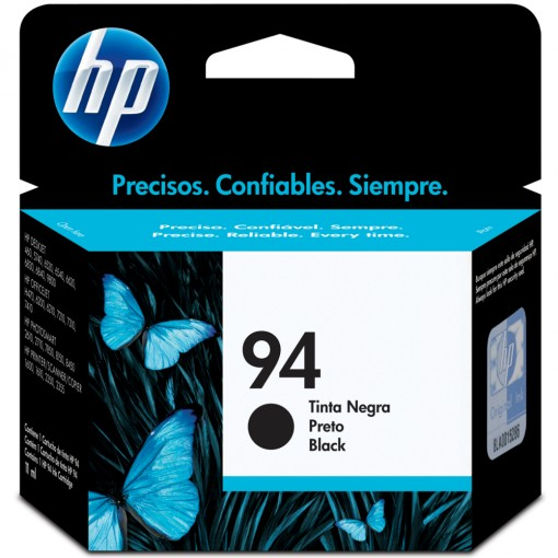 Cartucho HP 94 Preto 11ml C8765WB