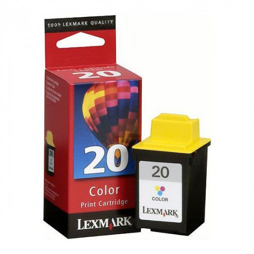 Cartucho Lexmark 20 Tricolor 18 ml 15M0120