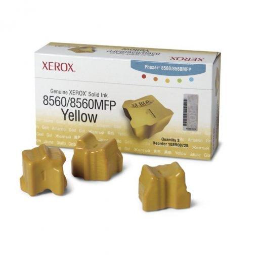 Cera Sólida Xerox R0766 Amarelo 108R00766