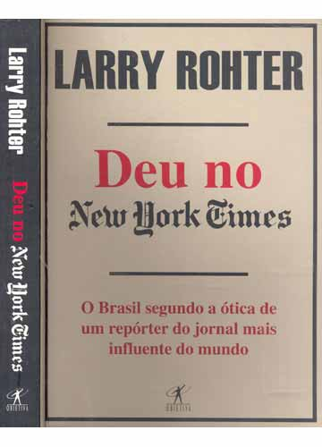 Deu no New York Times - Larry Rohter