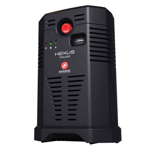 Estabilizador APC Hexus 500 Completo Bivolt/115V 500 Watts - 6 Tomadas Novo Padrão