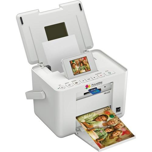 Impressora Jato de Tinta Fotográfica Epson PictureMate Charm PM225 Portátil