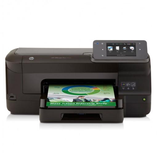 Impressora Convencional Hp Officejet Pro 251dw Cv136a Jato de Tinta Colorida Usb, Ethernet e Wi-fi Bivolt