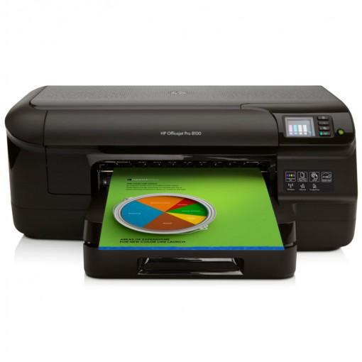 Impressora Jato de Tinta HP Officejet Pro 8100DWN (N811) com Duplex Rede Ethernet, Wireless e ePrint