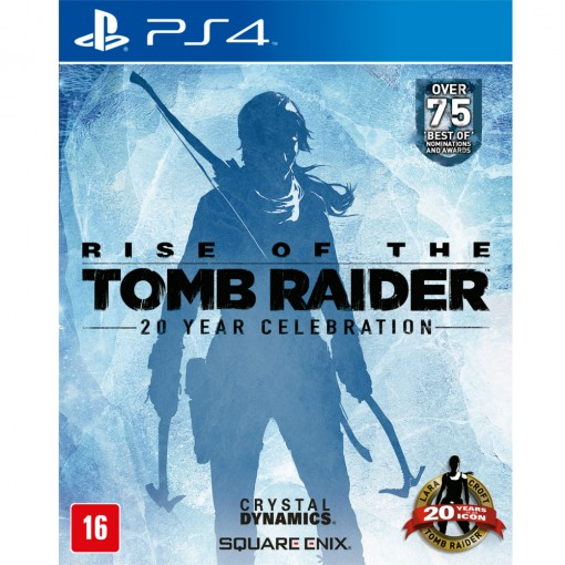 Jogo Rise Of The Tomb Raider: 20 Year Celebration - PS4