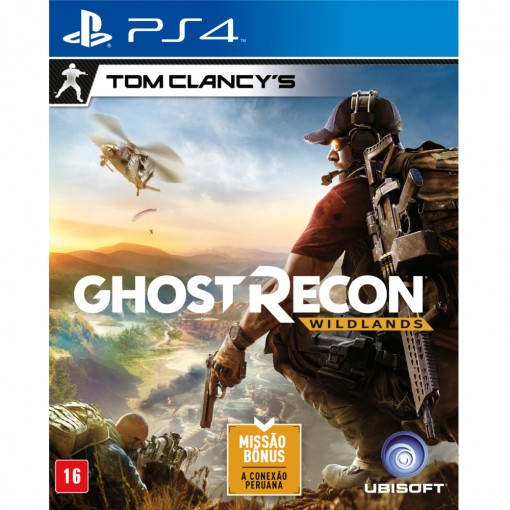 Jogo Tom Clancy´s Ghost Recon Wildlands - PS4