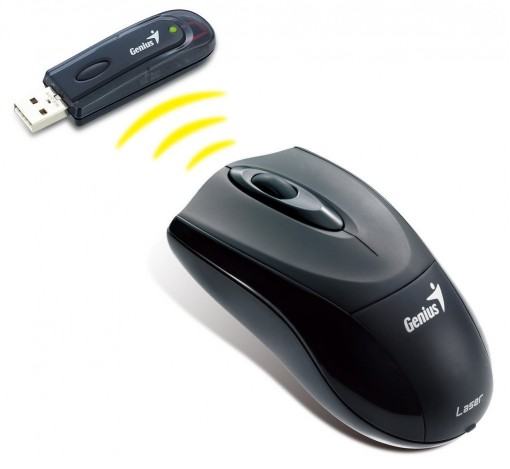 Mouse Wireless USB Genius Netscroll 620 Laser (31030015103)