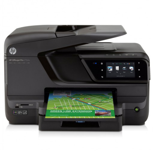 Multifuncional Hp Officejet Pro 276dw Cr770a Jato de Tinta Colorida Usb, Ethernet e Wi-fi Bivolt