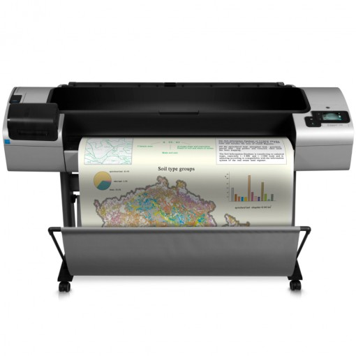 Plotter HP Designjet T1300 (CR652A) A1 44 polegadas - com tecnologia ePrint e PostScript
