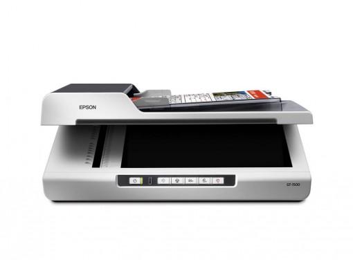Scanner Epson WORKFORCE GT-1500 Colorido - Cama plana com ADF - 110V