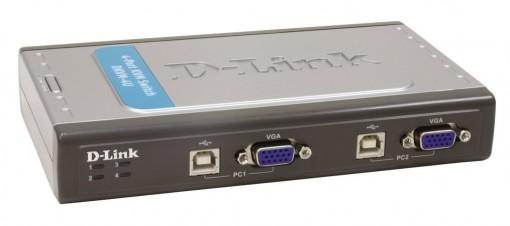 Switch KVM D-Link DKVM-4U (04 Portas USB)