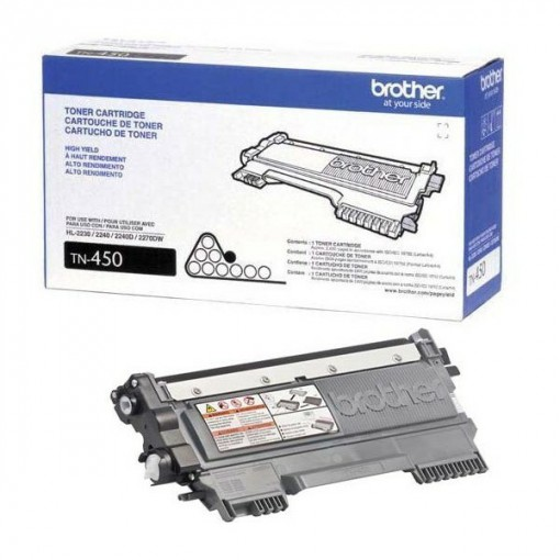 Toner Brother TN-450 Preto