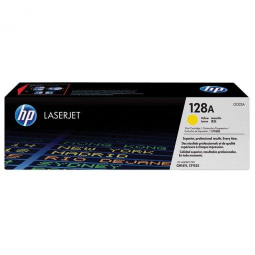 Toner HP 128A Amarelo CE322AB