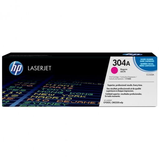 Toner HP 304A Magenta CC533A