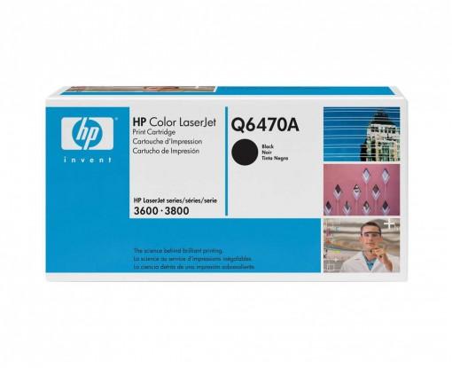 Toner HP 501A Preto Q6470A