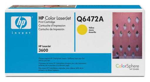 Toner HP 472A Amarelo Q6472A