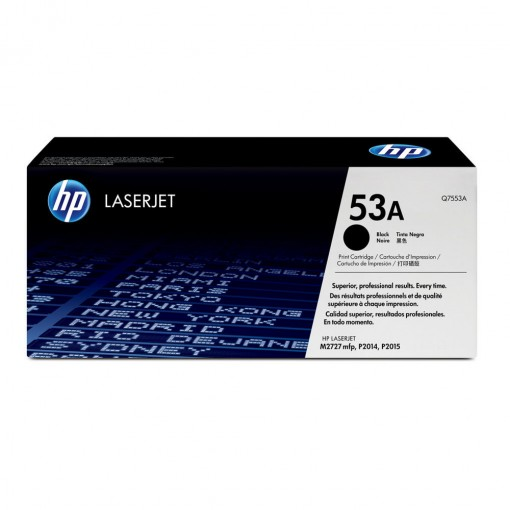 Toner HP 53A Preto Q7553A