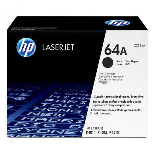 Toner HP 64A Preto CC364AB