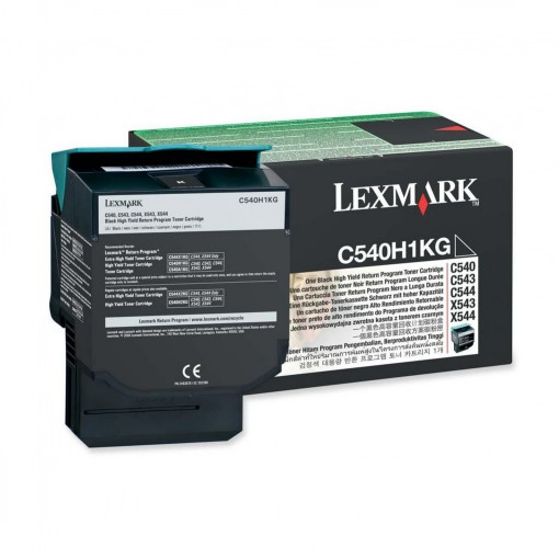 Toner Lexmark H1KG Preto C540H1KG