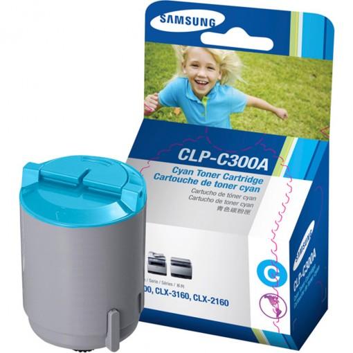 Toner Samsung C300 Ciano CLP-C300A