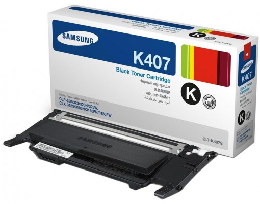 Toner Samsung K407S Preto CLT-K407S/XAZ