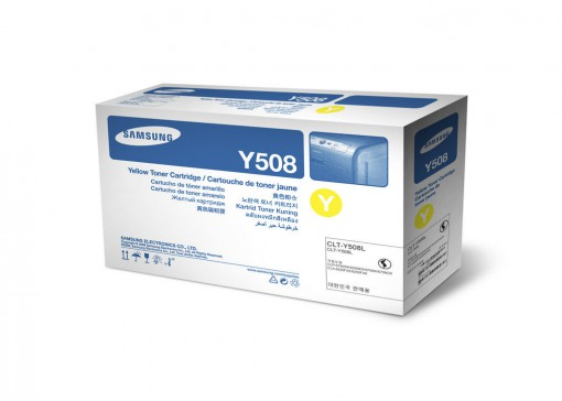 Toner Samsung Y508 Amarelo CLT-Y508L