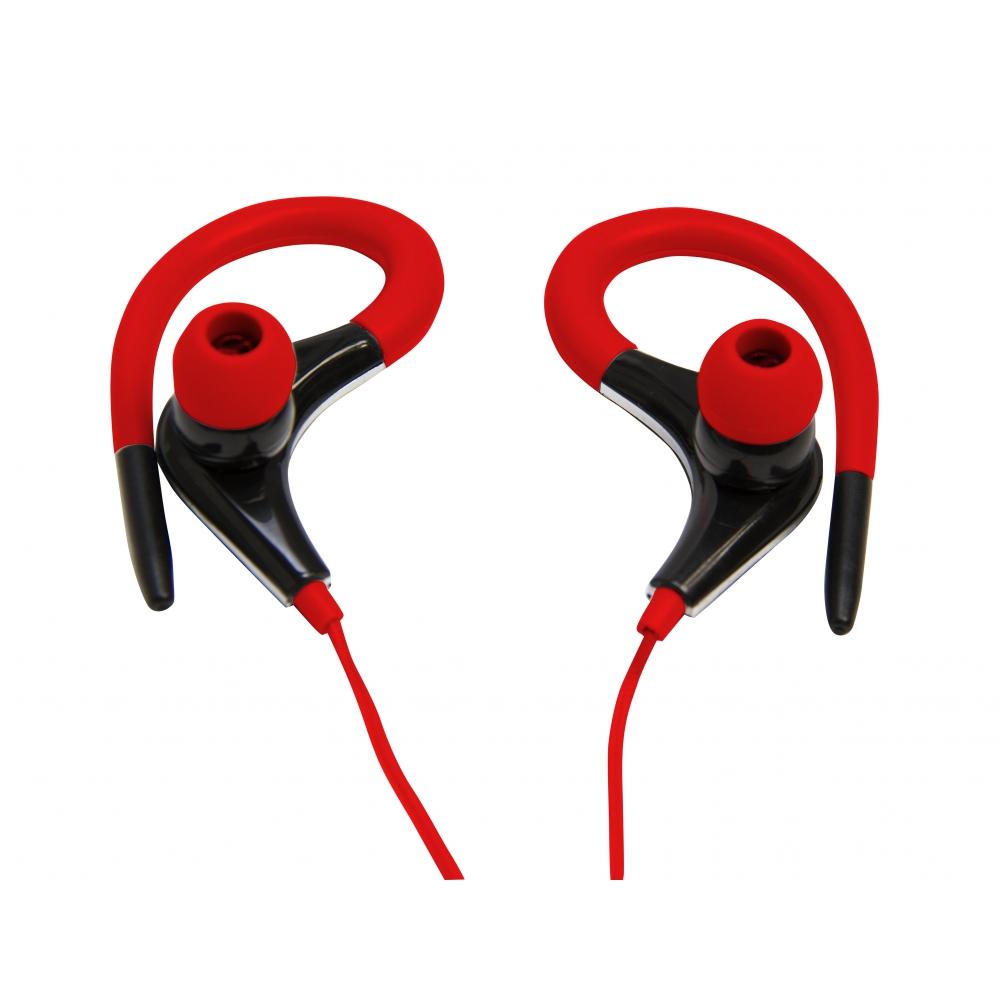 Fone de ouvido tipo auricular com microfone no cabo - VIVITAR