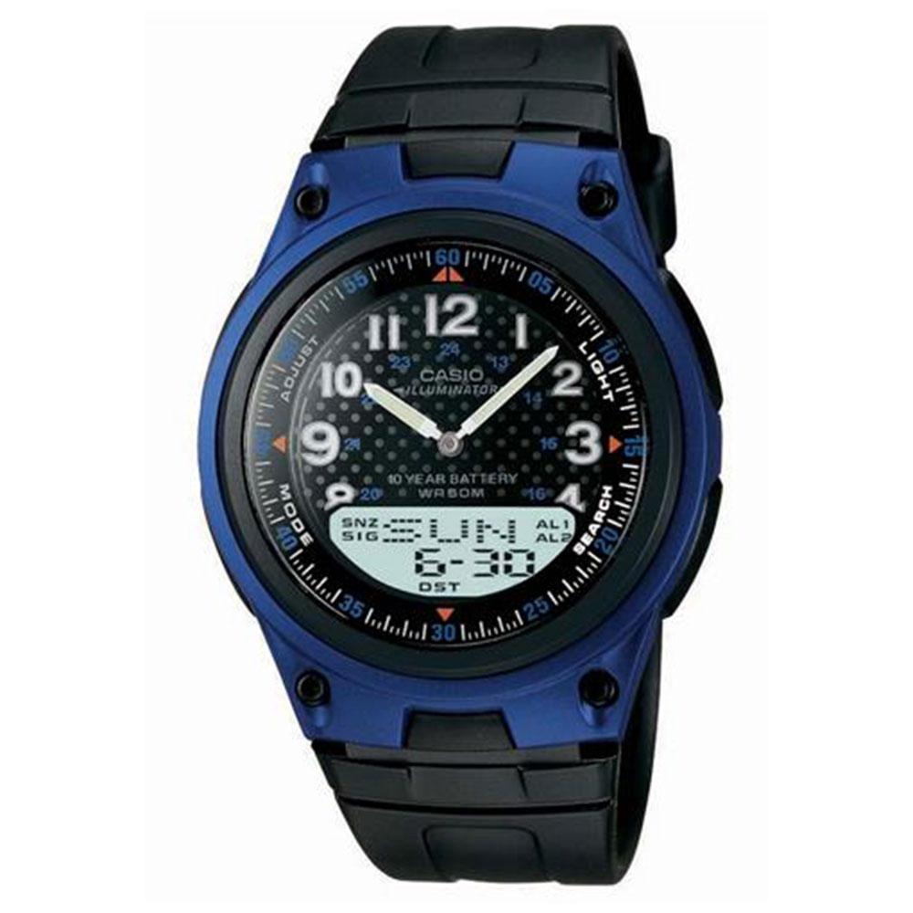 Relógio Masculino Anadigi Casio AW802BVDF - Preto