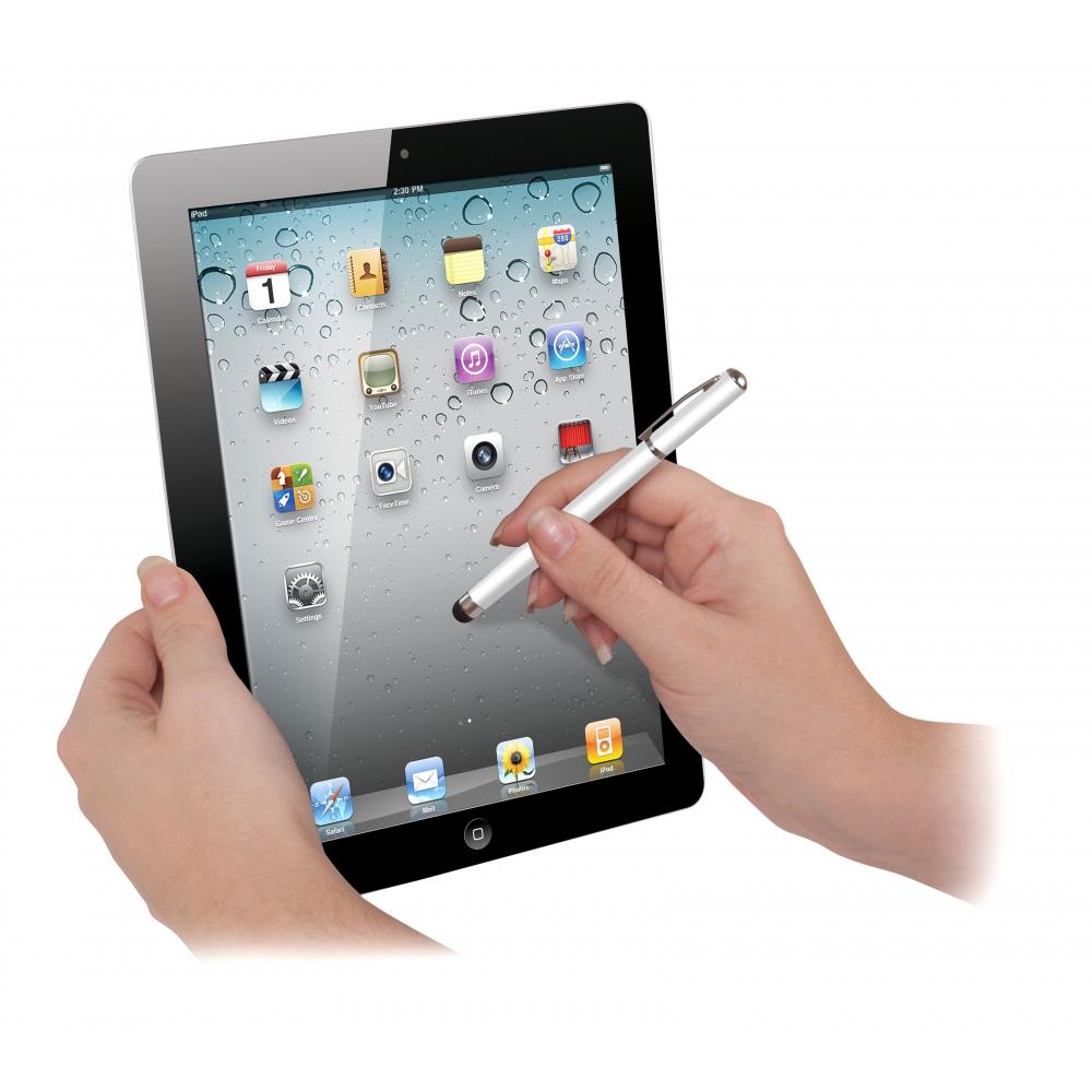 Caneta Stylus Elite 2 em 1: Touchscreen e Esferográfica - ISOUND