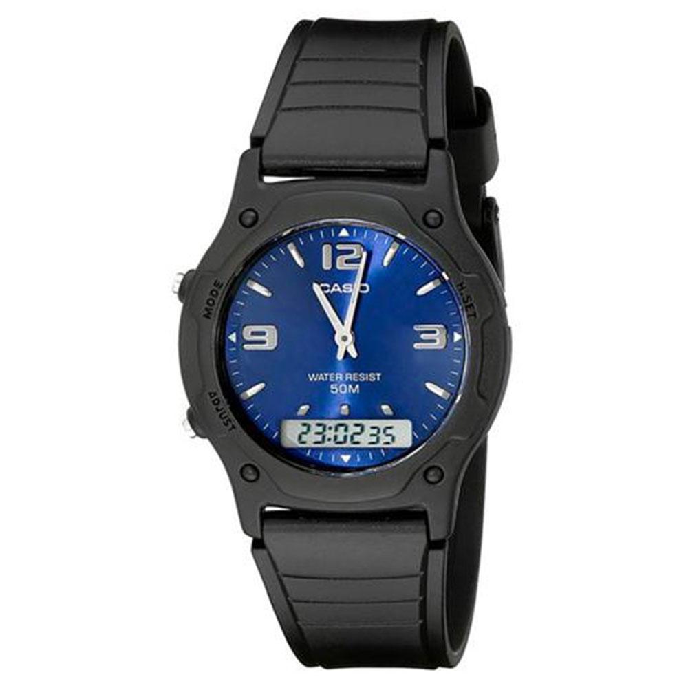 Relógio Casio Masculino AW-49HE-2AVDF - Azul
