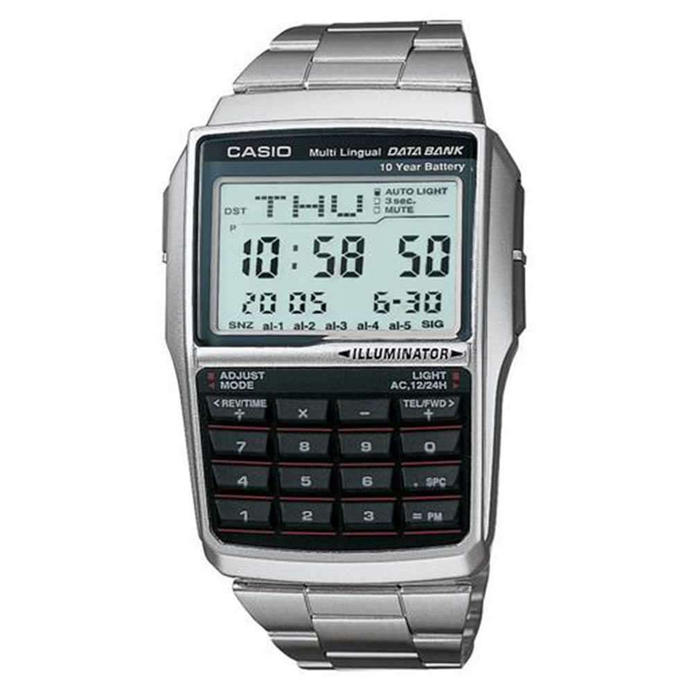 Relógio Masculino Digital Casio DBC32D1ADF - Prata