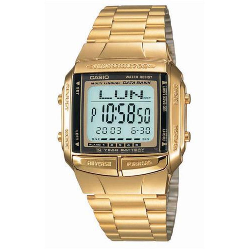 Relógio Masculino Digital Casio DB360G9ADF - Dourado