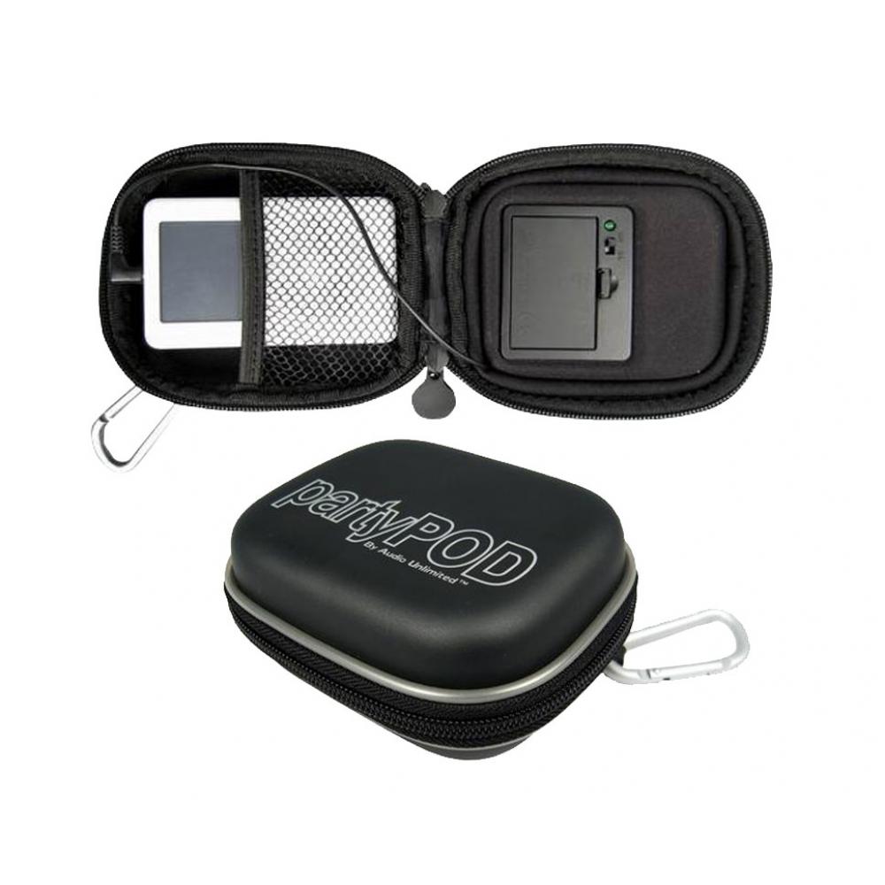 Estojo rígido com alto-falante para Smartphone, iPhone, iPod e MP3/MP4 player - CABLES UNLIMITED