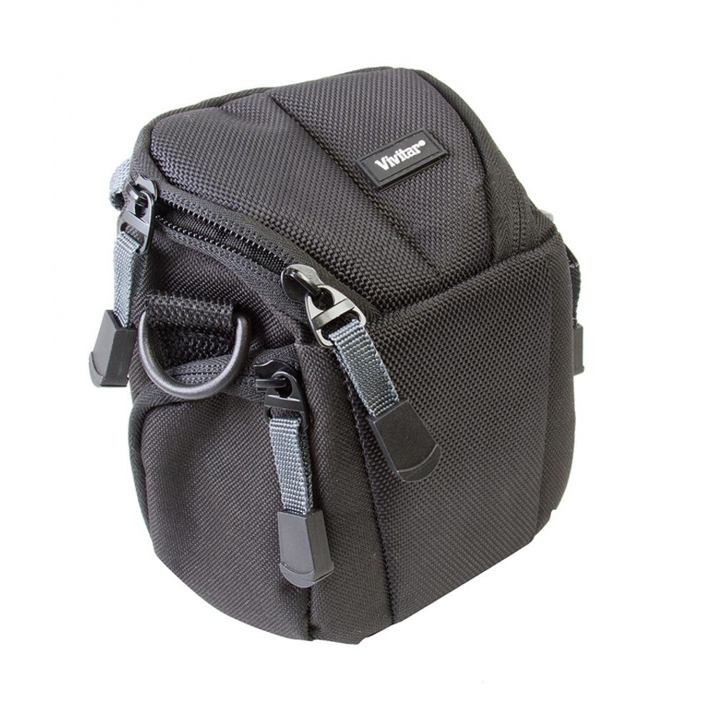 Bolsa compacta para filmadora ou câmera digital e acessórios - VIVITAR