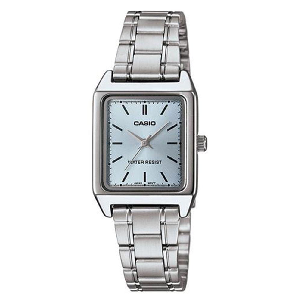 Relógio Feminino Analógico Casio LTP-V007D-2EUDF - Prata