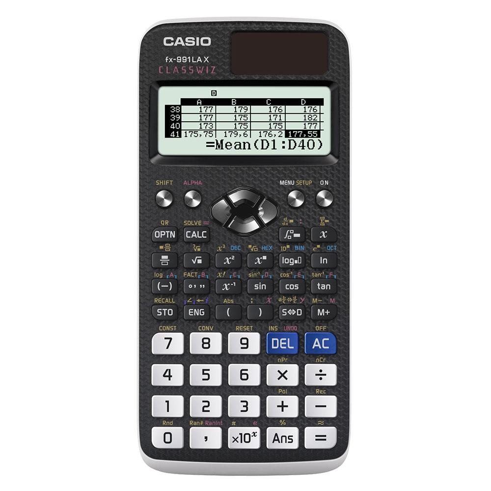 Calculadora Científica Casio Classwiz - FX-991LAX-BK