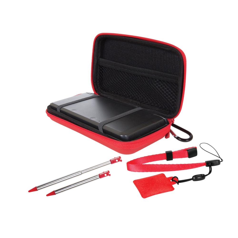 Conjunto com 4 Acessórios Dreamgear Vermelho, para Nintendo 3DS - DG3DS4215