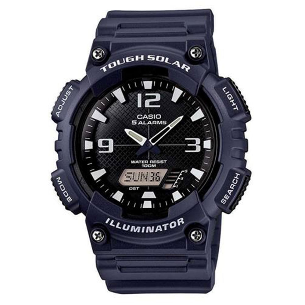 Relógio Masculino Anadigi Casio AQ-S810W-2A2VDF - Azul